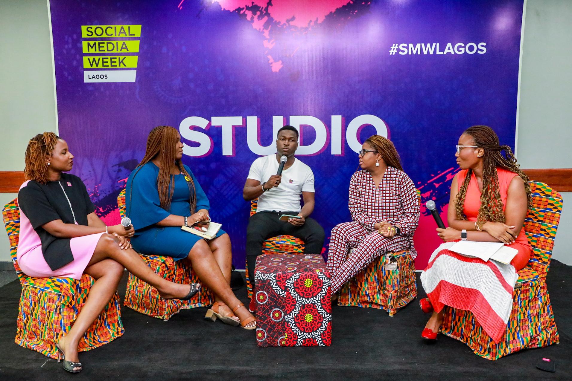 Panelists at Social Media Week 2020